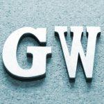 初・大所帯で移動するGW